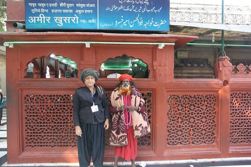 The Beggar Poet At The Tomb Of Poet Amir Khusro by firoze shakir photographerno1