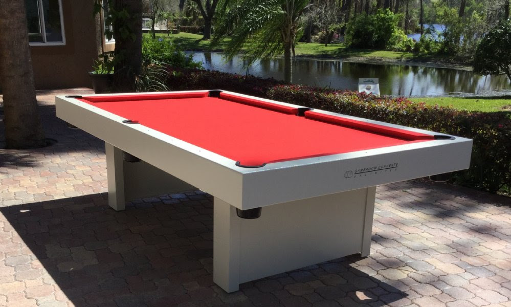 Gameroom Concepts 1000 Series Outdoor 8 foot Pool Table ...