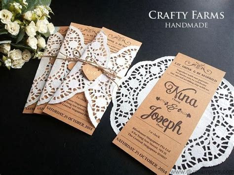 doily inspired rustic wedding cards 1 800×600 piksel