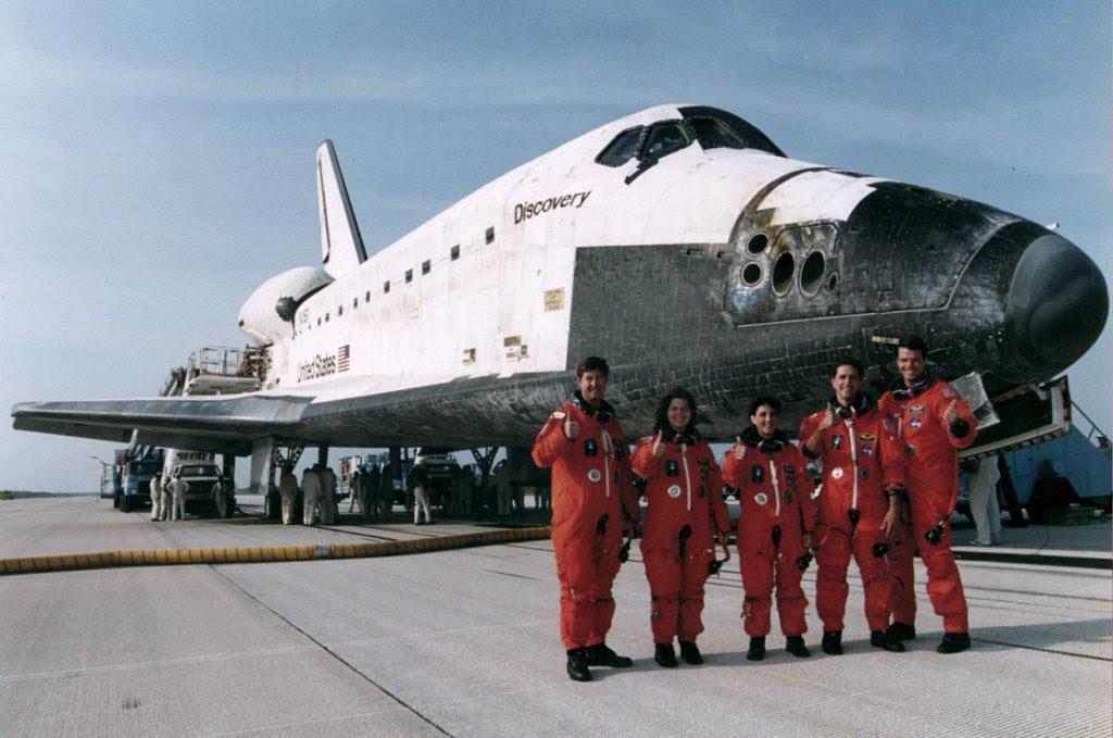 Jul22-1995 STS70landing
