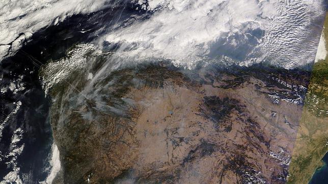Todos los incendios detectados en la Tierra desde 2002 a un click