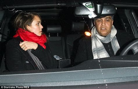 Jessica Alba treats father Mark to dinner after enjoying a
