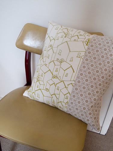finished cushions
