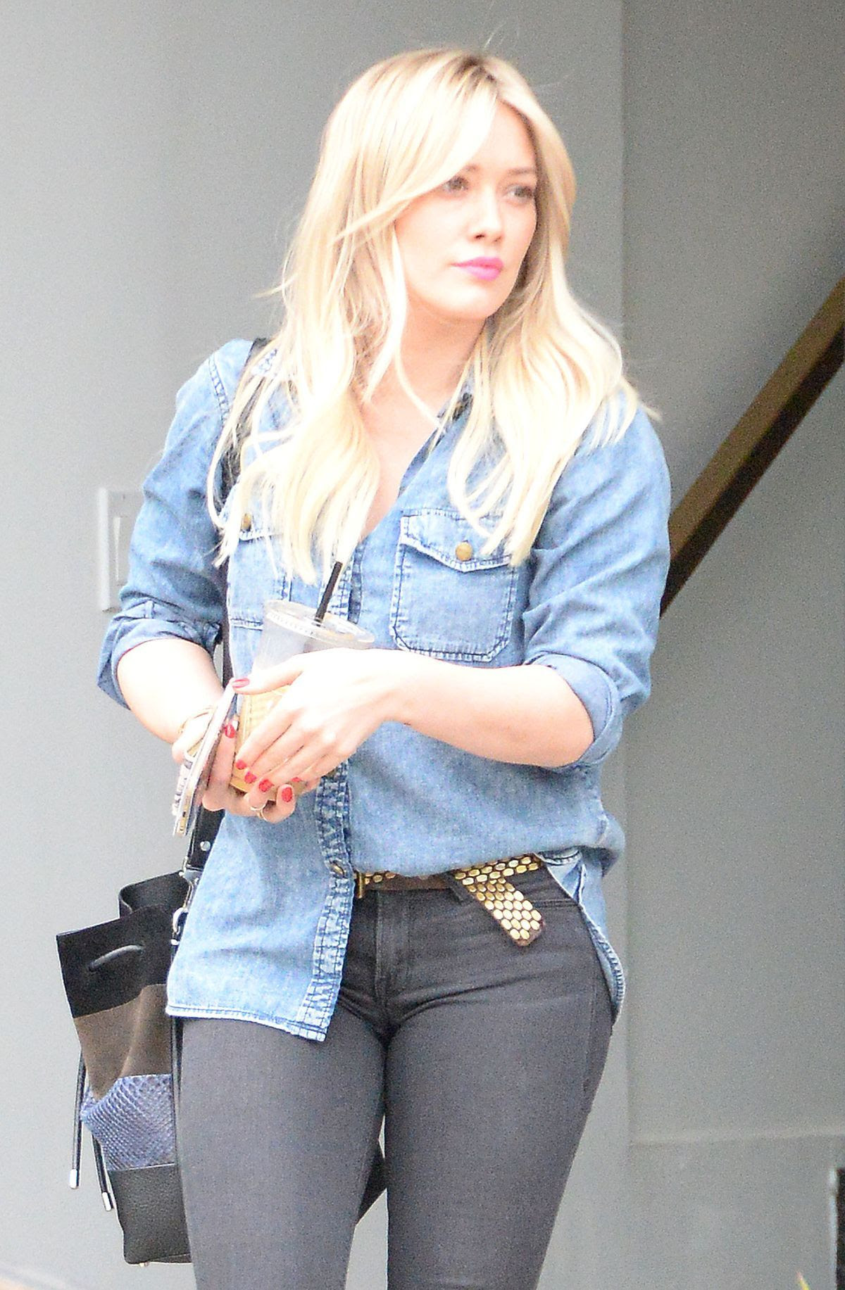 HILARY DUFF Out and About in West Hollywood 2901