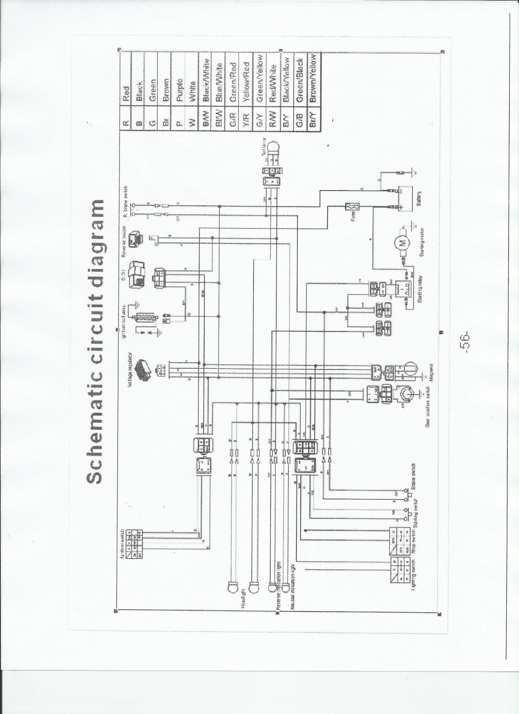 A42b37 Tao Tao Wiring Diagram Cdi Box Wiring Resources