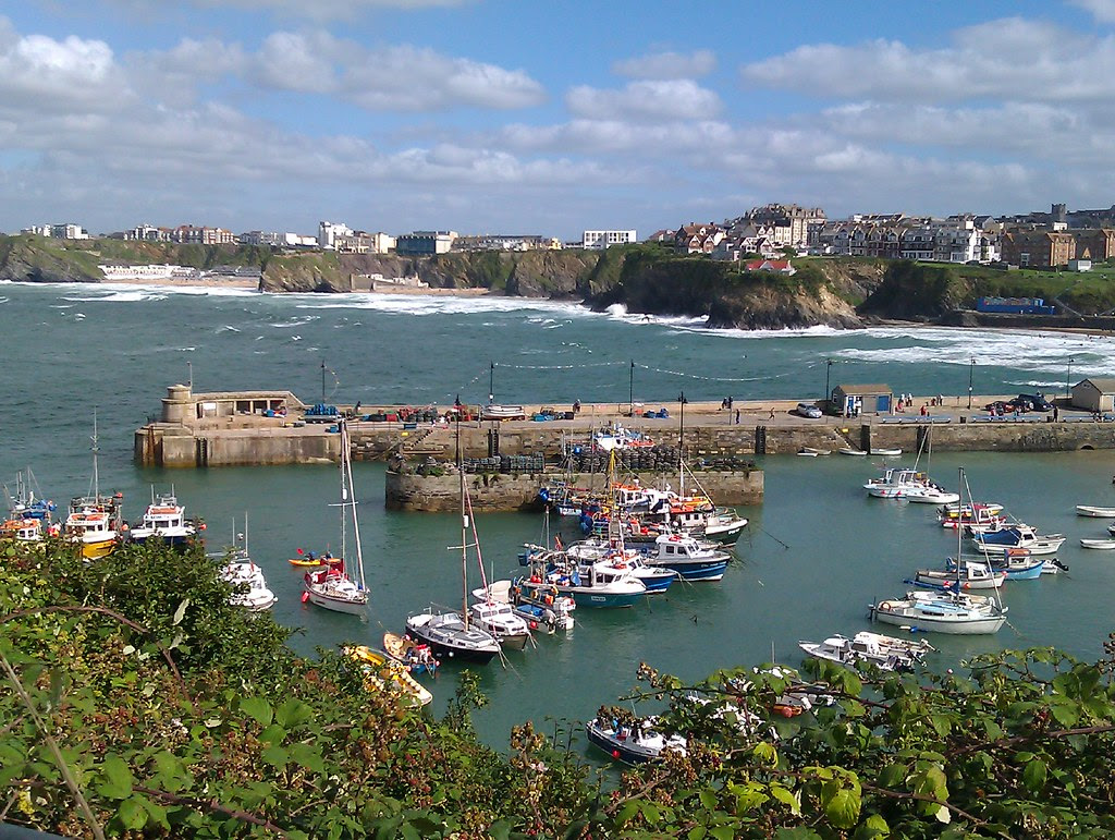 Newquay, port