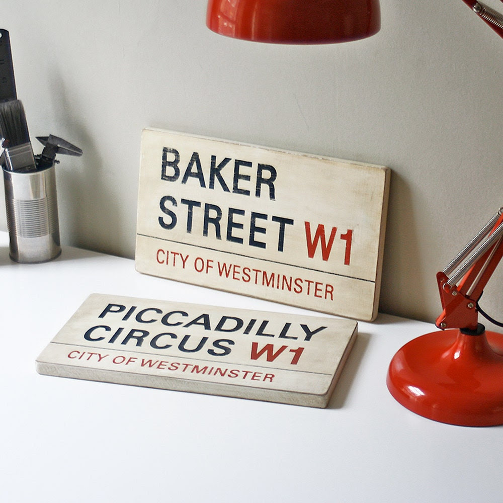 Custom London Street Signs Your Choice Of Street Postcode And Borough