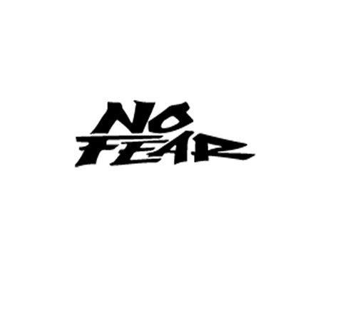 2X NO FEAR decal stickers racing motorcycle car moto bike