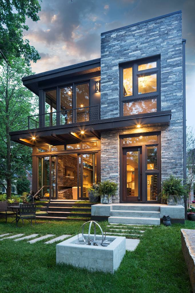Unique 40 Contemporary Exterior Design That Look Exclusive