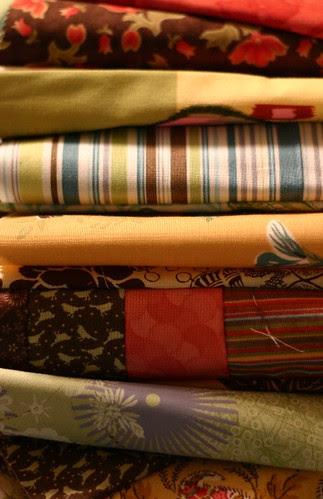 selma scarves in progress