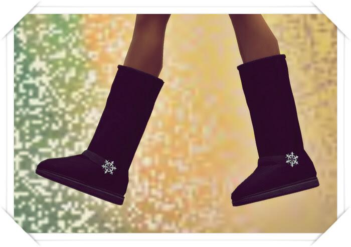 Sakide Ugg Snow Boots Black