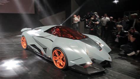 NEW Lamborghini Egoista unveiled to the Lamborghini 50th Anniversary   YouTube
