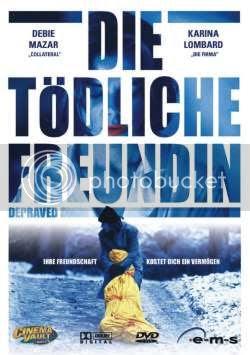 El único cartel de la película que he encontrado a un tamaño presentable es el de la edición alemana del DVD