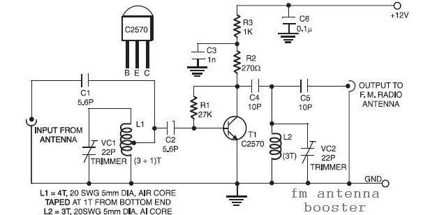 Wifi Antenna Amplifier Circuit Diagram - ANTENA BARU