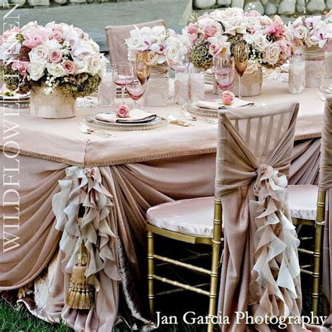 Beige, Champagne, Blush & Taupe   Wedding decor from