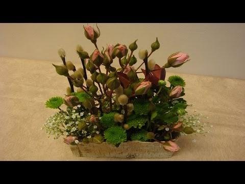deko ideen mit flora shop blumengestecke selber machen anleitung. Black Bedroom Furniture Sets. Home Design Ideas