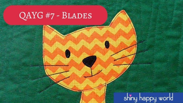 Quilt As You Go #7 - How to Quilt a Blades Pattern - Video tutorial from Shiny Happy World