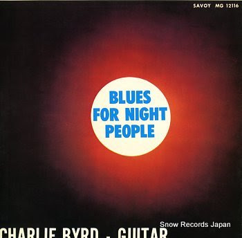 BYRD, CHARLIE blues for night people