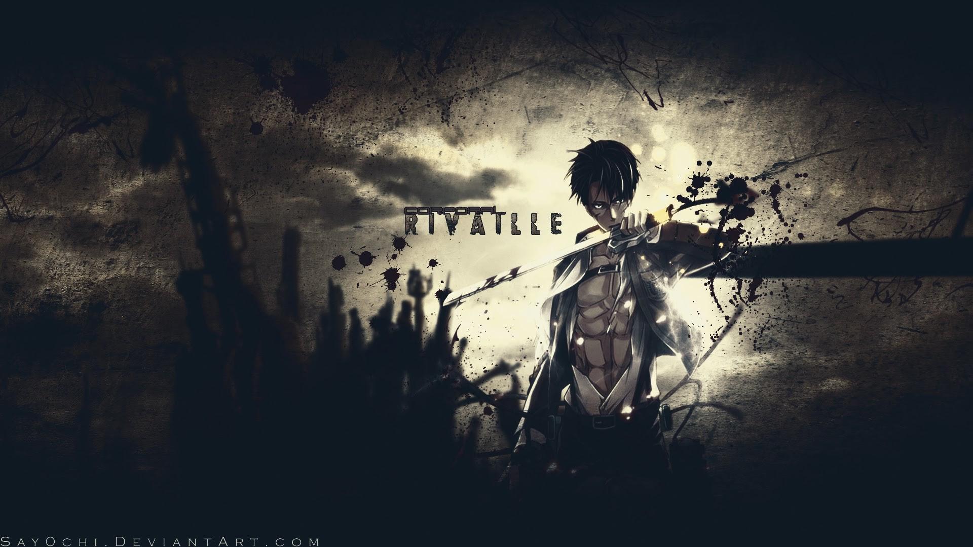 Ultra Hd Levi Attack On Titan Wallpaper Gambarku