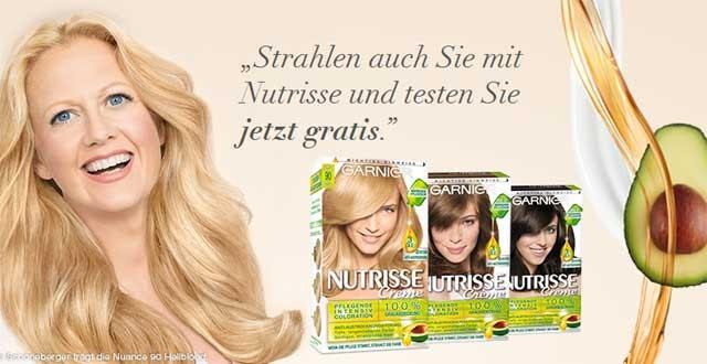 Garnier Nutrisse Haarfarbe Kostenlos Testen