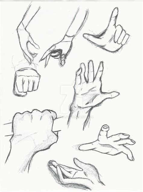 hand study anime hands  yflynn  deviantart