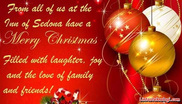 Kartu Ucapan Natal Dan Tahun Baru Dalam Bahasa Inggris ...