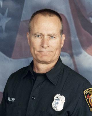 LAFD Firefighter Glenn L. Allen