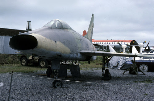 F-100 Super Sabre: Armee de l'Air F-100D 54-2160 South Wales Air Museum
