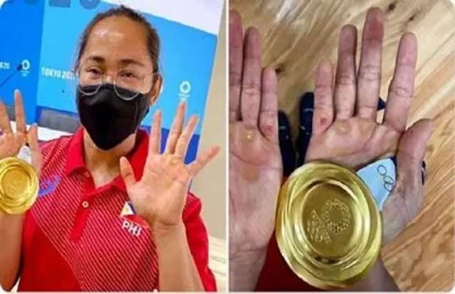 Tokyo Olympic 2020: मेडल जीतने के लिए एथलीट क्या कुछ नही करते, देखिए इन तस्वीरों में