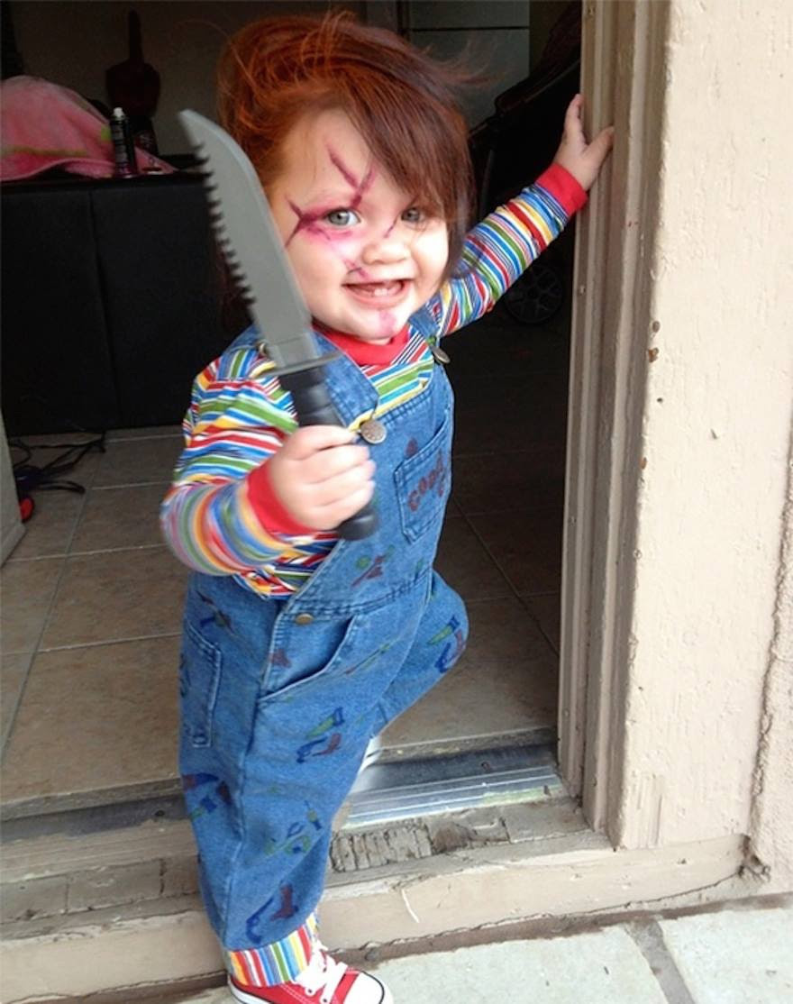 Parent Dresses Child As Chucky The Killer Doll Too Far