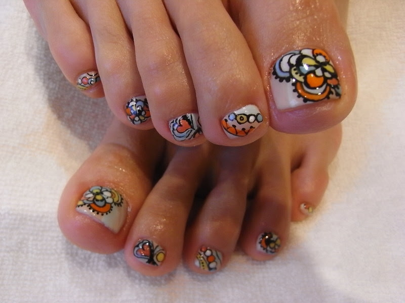 Chic Toe Nail Art Ideas For Summer Nail Art Design Ideas Collection