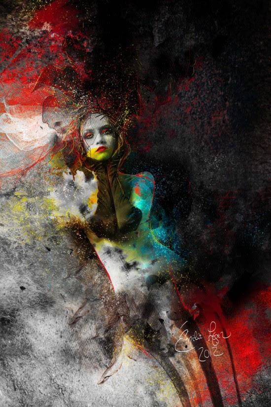 Émilie Léger, l'art numérique