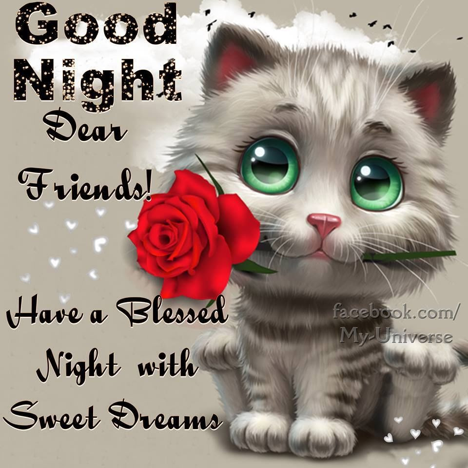 Goodnight Dear Friends Pictures Photos And Images For Facebook