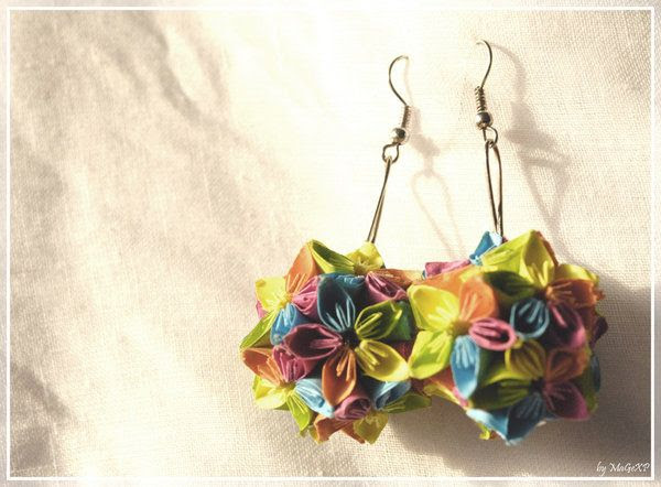 Kusudama Earrings by MaGeXP