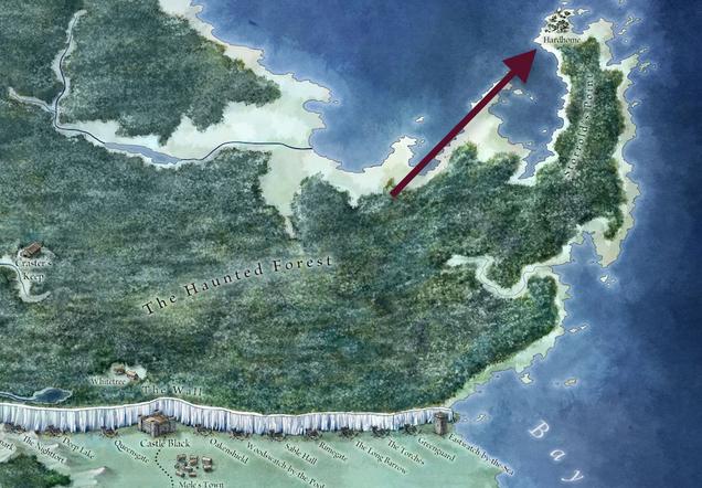 El invierno está muy cerca en Juego de Tronos, y este mapa es la prueba