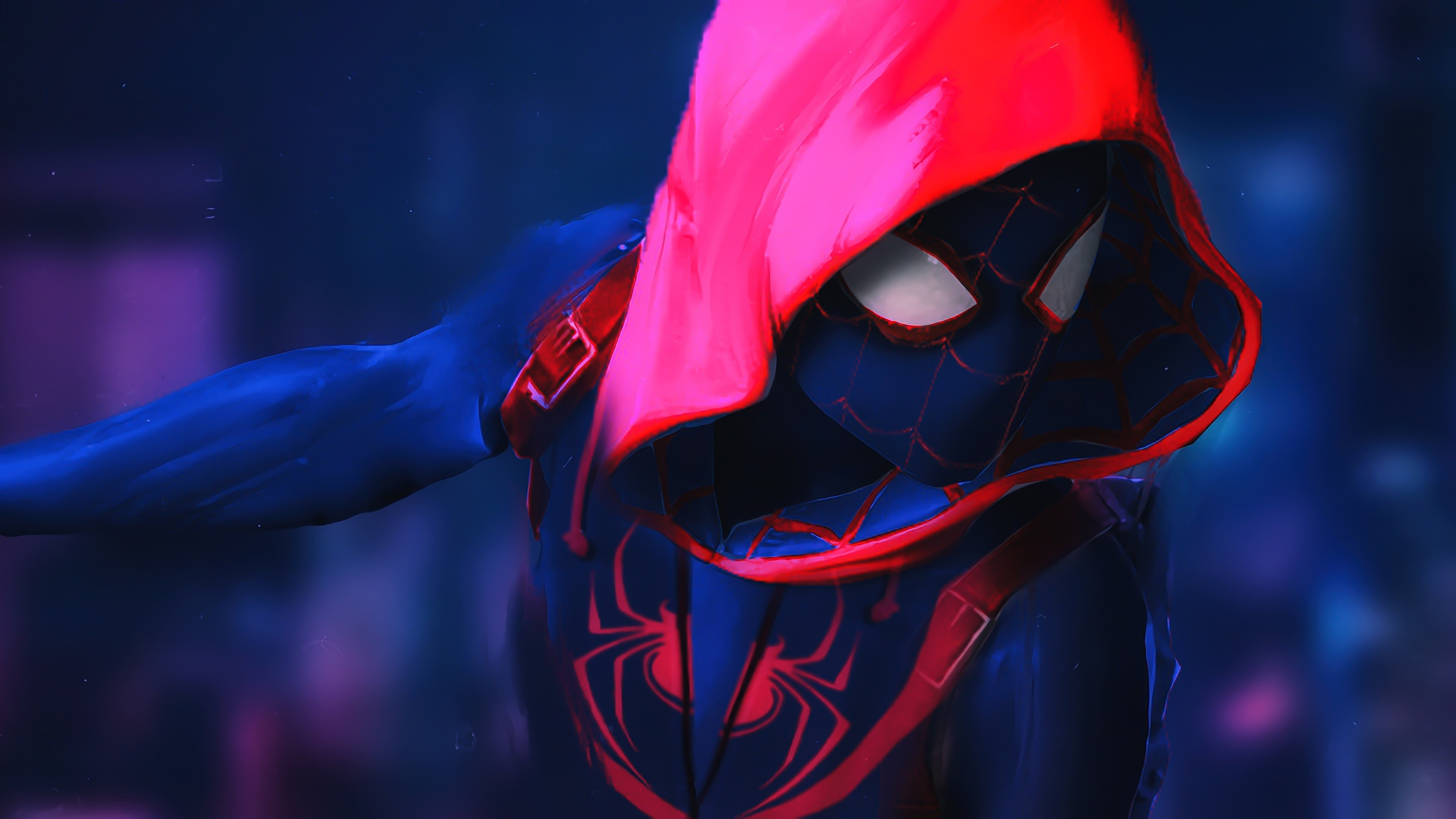 SpiderMan Into The Spider Verse Movie 4k Movie Artwork, HD Movies, 4k Wallpapers, Images