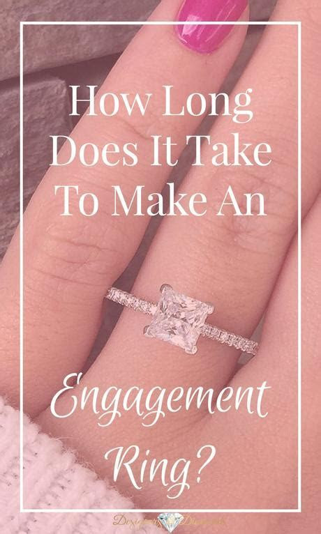 How Long, How Long Does It Take to Make an Engagement Ring
