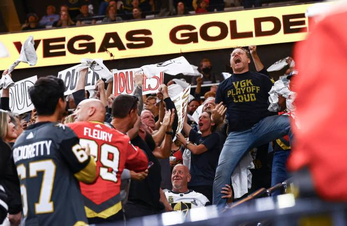 Golden Knights fans could be difference in Montreal series