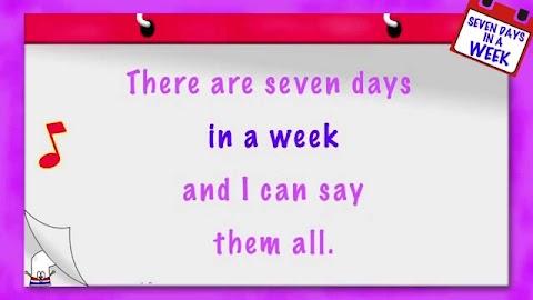 Days Of The Week Song Lyrics