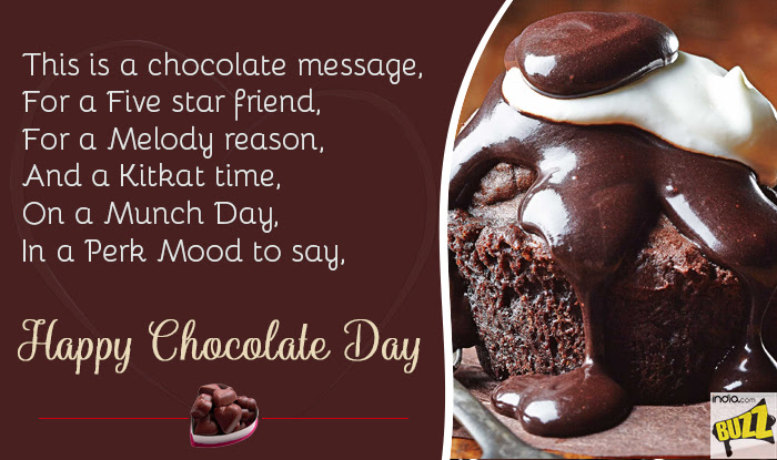 Happy Chocolate Day 2018 Best Wishes Sms Whatsapp Forwards And