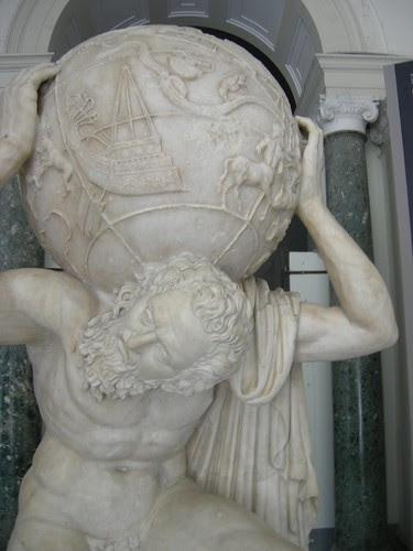 portal 2 atlas statue. Atlas statue