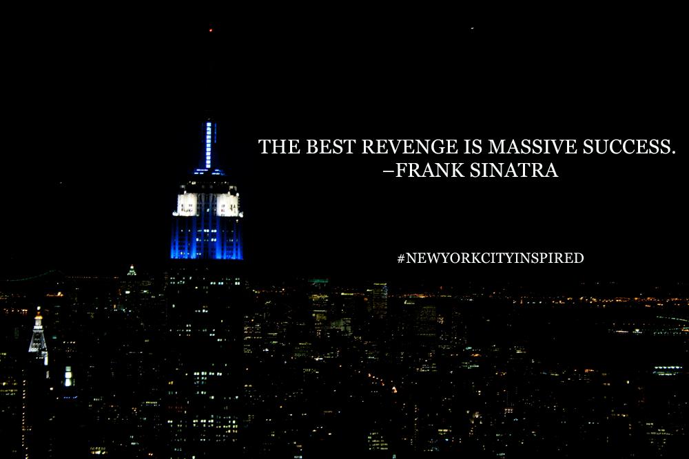 Photo Nyc Inspiration Frank Sinatra Quote New York City Inspired