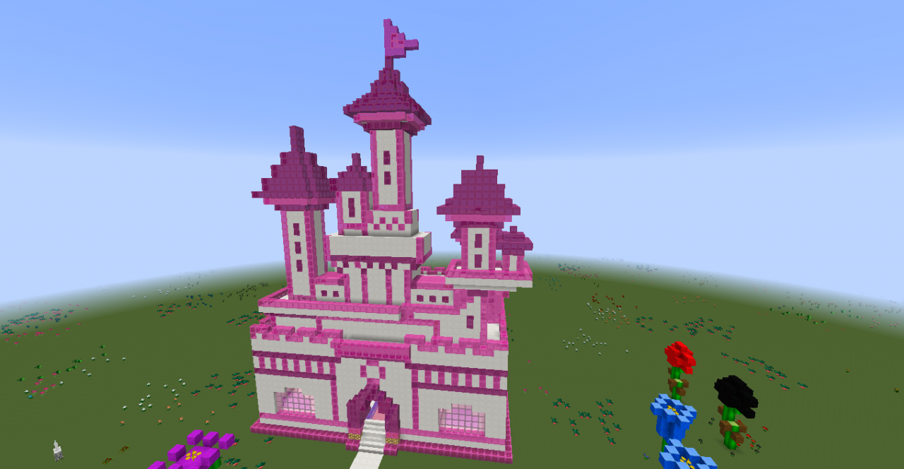 Pink Castle Minecraft Project