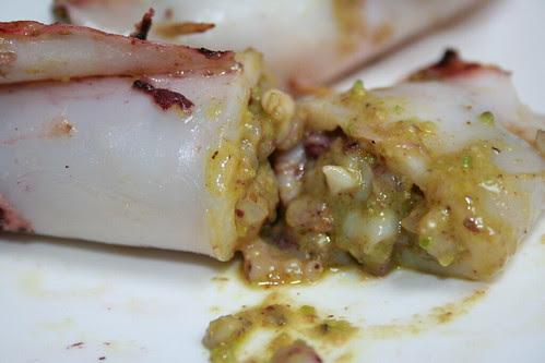 Calamari ai pistacchi