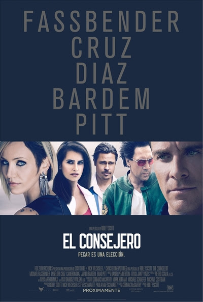 Cartel de El consejero (The Counselor)