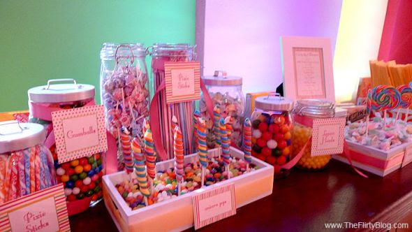 Are you doing a candy buffet? :  wedding Best Wedding Candy Bar