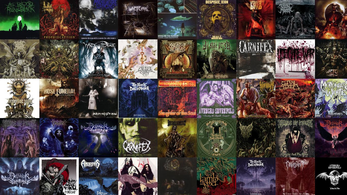 Thy Art Is Murder Tiled Desktop Wallpaper