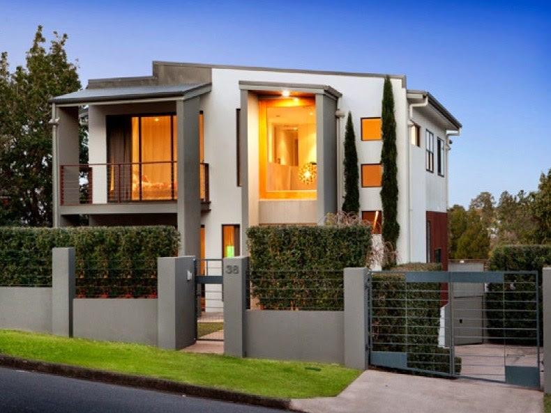Fachadas de casas modernas y bonitas