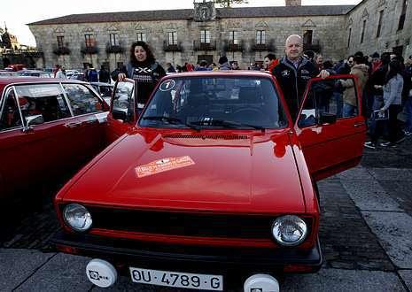 El rali do Albariño: Enganchados a los coches de más de 25 años. Miki y Diego vencieron en Cambados