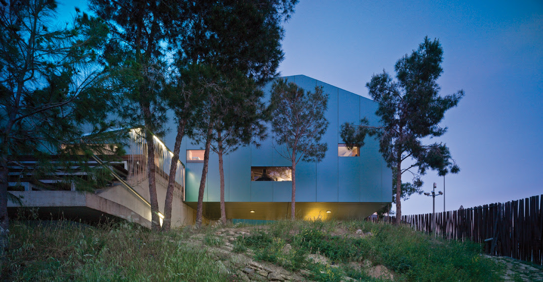 House-among-Pines,XPIRAL,architecture,design,House